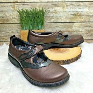 PW Minor Milan Bronze Leather Comfort Mary Janes